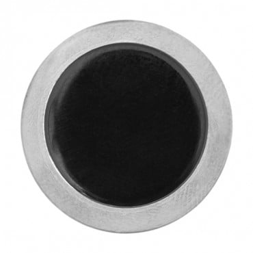 Two-Toned Flat Cone Glass Button