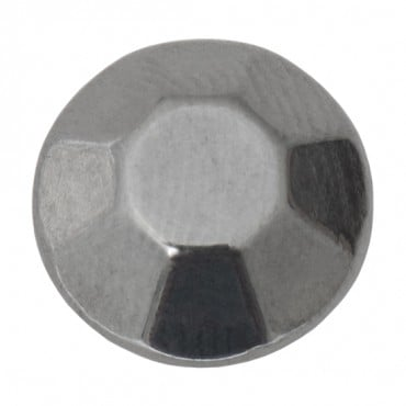 DOME AND FACETED SHANK BUTTON