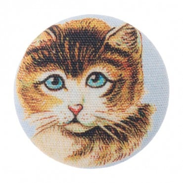 PRETTY KITTIES BUTTON