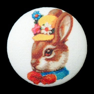FUNNY BUNNIES BUTTON