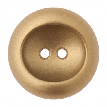 TWO HOLE METAL CONCAVE BUTTON