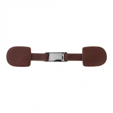 LEATHER CLASP CLOSURE