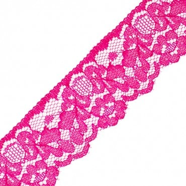 "1 1/2"" COLORED CHANTILLY LACE"