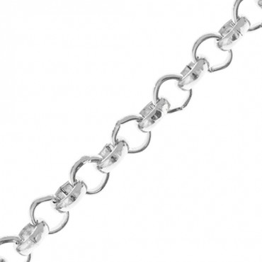 4.5MM STEEL ROLO CHAIN
