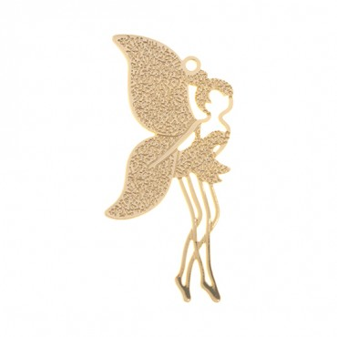 40MM X 18MM GOLD FAIRY CHARM