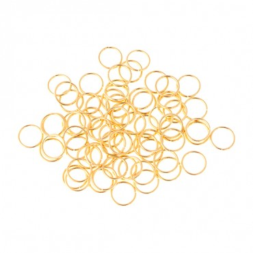 BEADALON 6MM JUMP RING 50 PCS