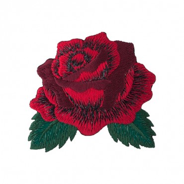 """2 7/8"""" (70mm) Rose Applique"""