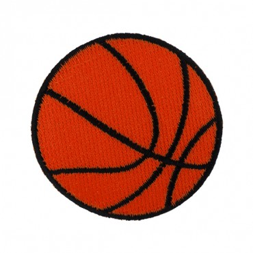 "2 1/4"" (56mm) Basketball Applique"