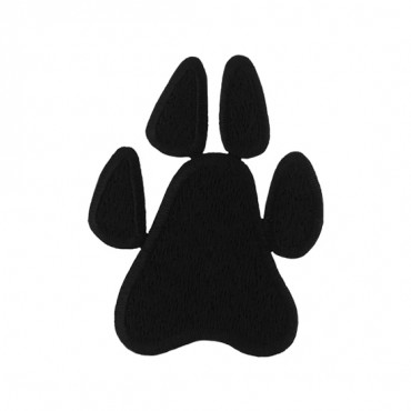 Iron On Paw Print Patch
