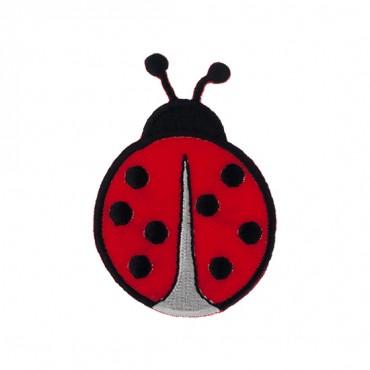 "2 7/8"" (74mm) Ladybug Applique"