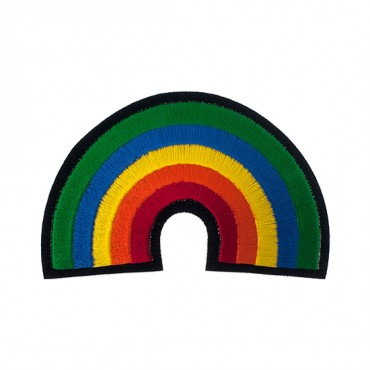 "3 1/4"" (84mm) Rainbow Applique"