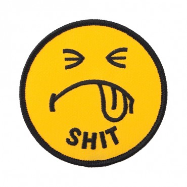 Iron On Frown Face Patch