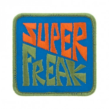 "Iron On ""Super Freak"" Patch"