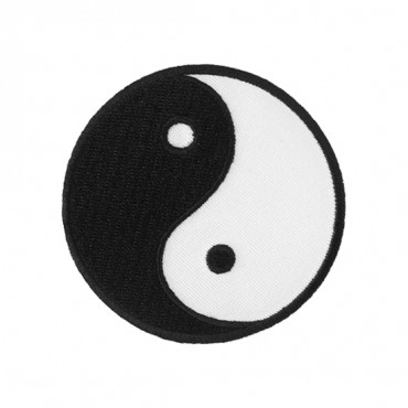 "2 7/8"" (74mm) Yin Yang Applique"