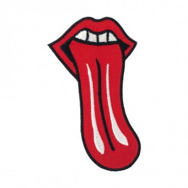 Iron On Rock N' Roll Tongue Patch