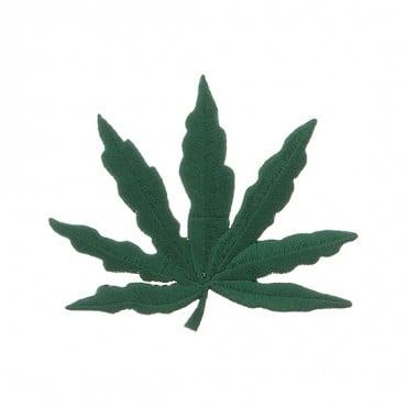 Iron On Marijuana Leaf Patch