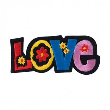 "4"" (103mm) Flower Love Applique"