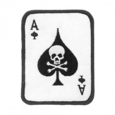 Iron On Ace of Spades Patch