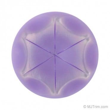 Iridescent Star Button