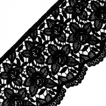 "5"" (127 MM) Floral Wool Lace"