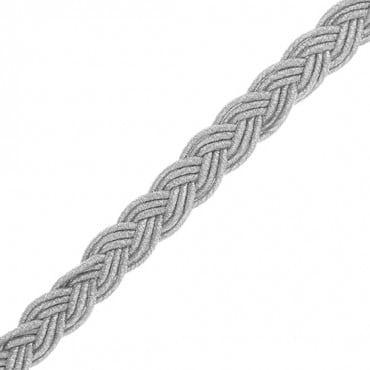 "1/2"" (13mm) Woven Metallic Braid"