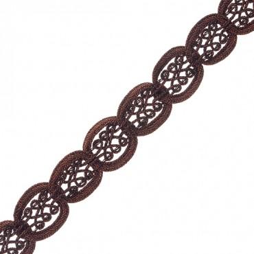 """7/8"""" (22 MM) Ornate Figure Eight Braid"""