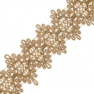 "2"" (51mm) Scalloped Braid"