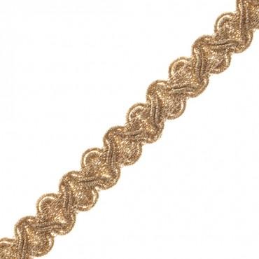 "1/2"" (13 MM) Zig Zag Metallic Braid"