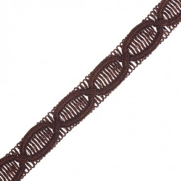 "3/4"" (19mm) Ornate Figure Eight Braid"