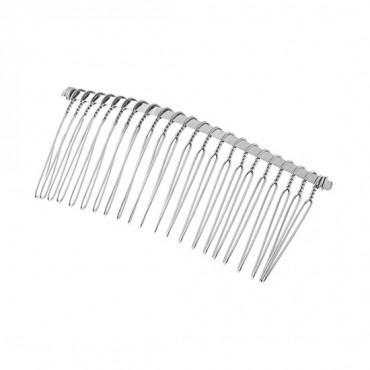 """3 1/4"""" Metal Hair Comb"""