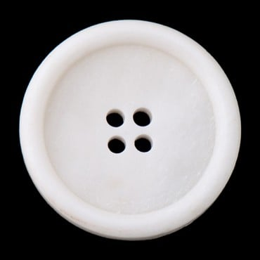 Basic Four Hole Bone Button
