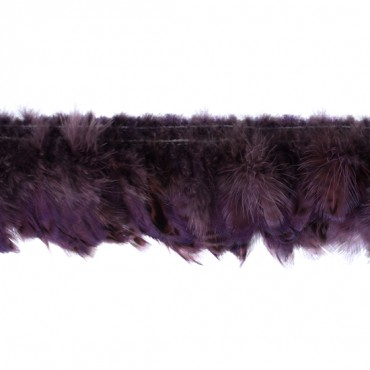 "4"" Spotted Feather Fringe"