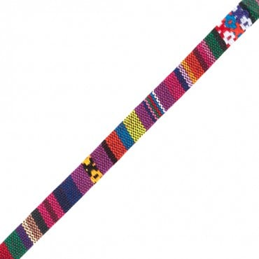 10mm Woven Ethnic Ribbon
