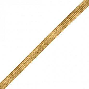 4mm Metallic Middy Braid