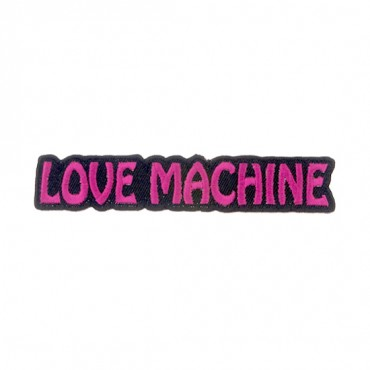 "Iron On ""Love Machine"" Patch"