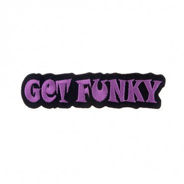 "Iron On ""Get Funky"" Patch"