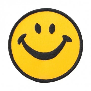 Iron On Smiley Face Patch