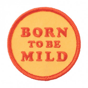 "Iron On ""Born to Be Mild"" Patch"