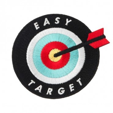"Iron On ""Easy Target"" Patch"