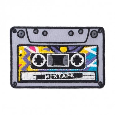 "Iron On ""Mixtape"" Patch"