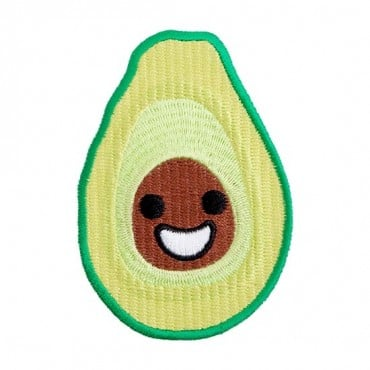 Iron On Avocado Patch