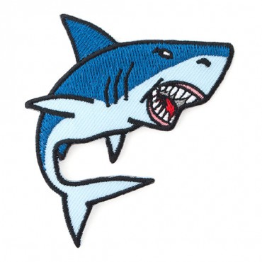 Iron On Shark Patch