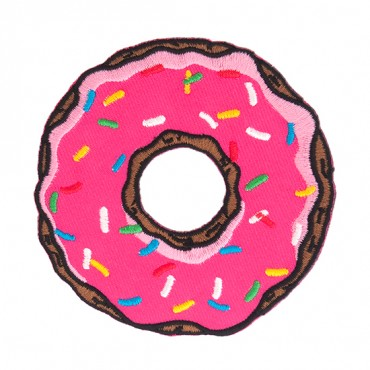 Iron On Donut Patch
