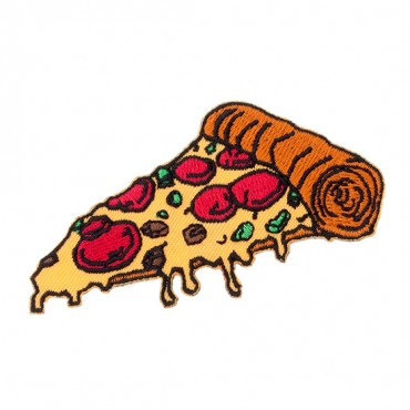 Iron On Pizza Patch