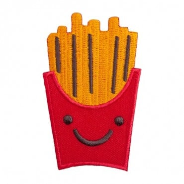 Iron on French Fries Patch