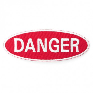 "Iron On ""Danger"" Patch"