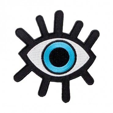 Iron On Blue Eye Patch