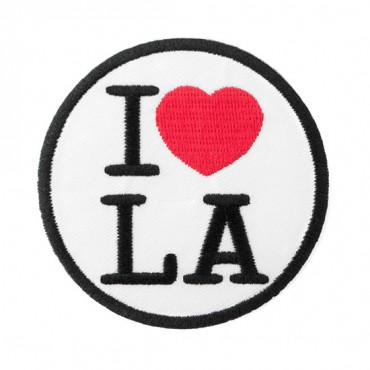 """Iron On """"I Love L.A."""" Patch"""