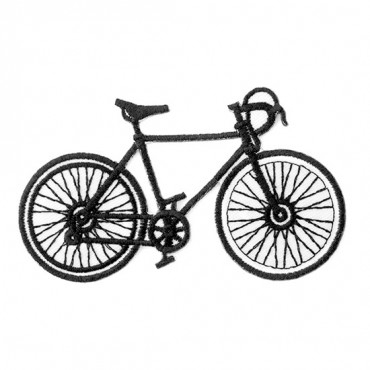 Bicycle Black & White Patch