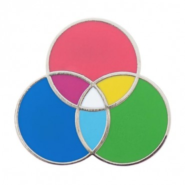RGB Color Wheel Pin